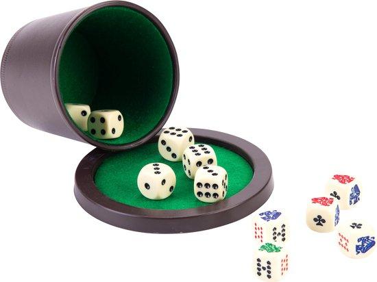 Longfield Games Poker Dobbelset