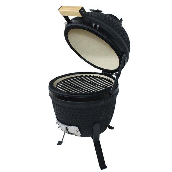 Kamado XL13I BBC grill - 25 cm - Zwart