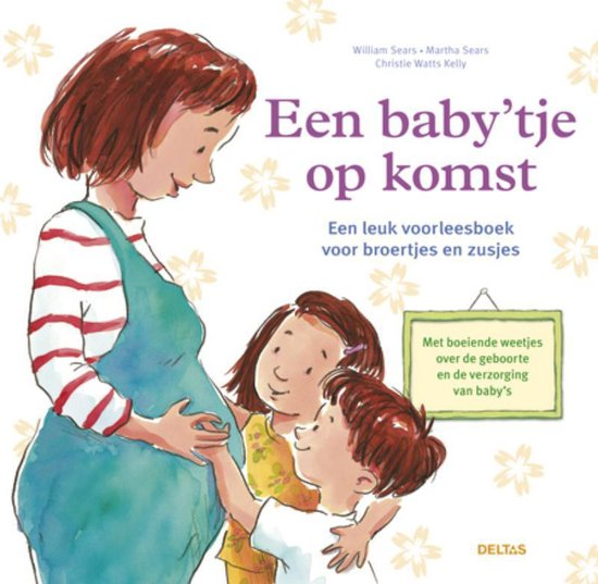 Boek cover Een babytje op komst van William Sears (Hardcover)