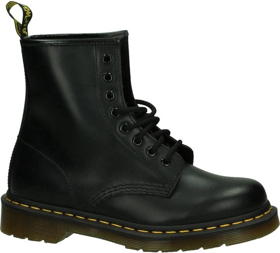 Dr. Martens 1460 Smooth Dames Veterboots - Smooth black - Maat 40
