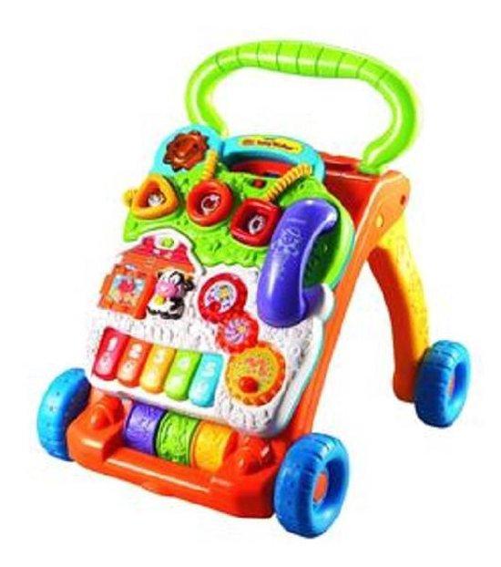 VTech Baby Baby Walker Oranje - Loopwagen - VTech