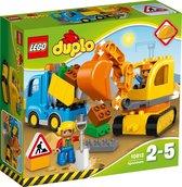 LEGO DUPLO Rupsband-graafmachine - 10812