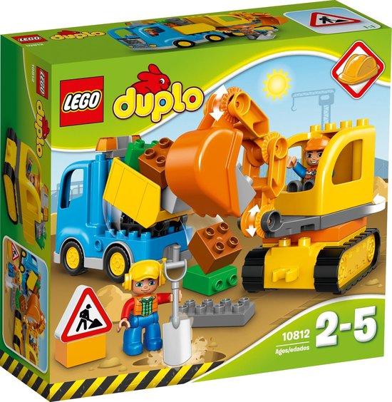 Afbeelding van LEGO DUPLO Rupsband-graafmachine - 10812