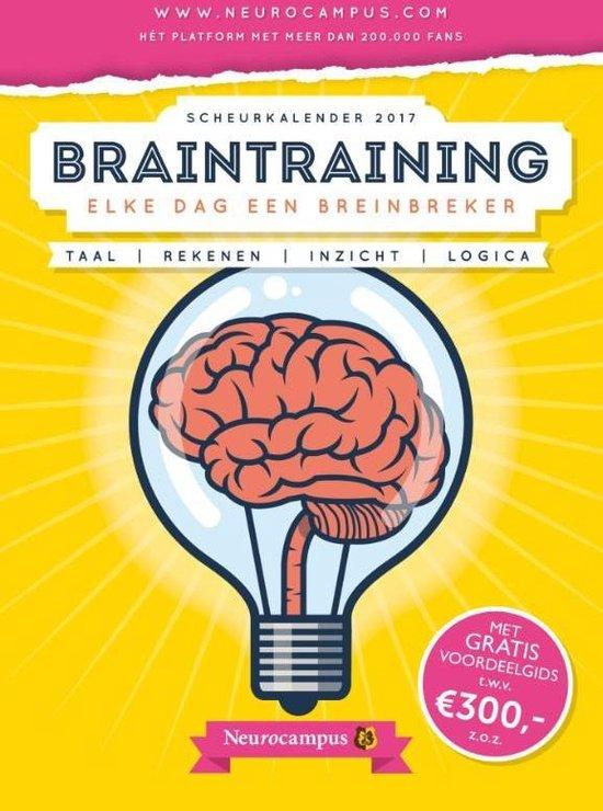 Neurocampus braintraining scheurkalender 2017