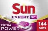 Sun All-in-1 Extra Power vaatwastabletten - 6x24 tabs - Effectieve Vuilverwijdering