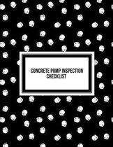 Concrete Pump Inspection Checklist