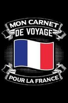 Mon Carnet de Voyage pour la France