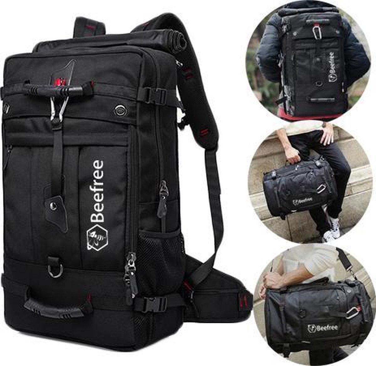 Beefree Anti diefstal rugzak| handbagage koffer | handbagage backpack | reistas | rugtas | werktas |