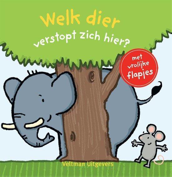 Boek cover Welk dier verstopt zich hier? van Thorsten Saleina (Hardcover)