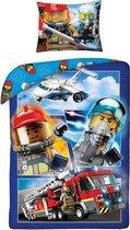 LEGO City dekbedovertrek met kussensloop