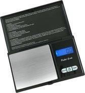 Precisie weegschaal - Van 0,1 tot 1000 gram - Zwart