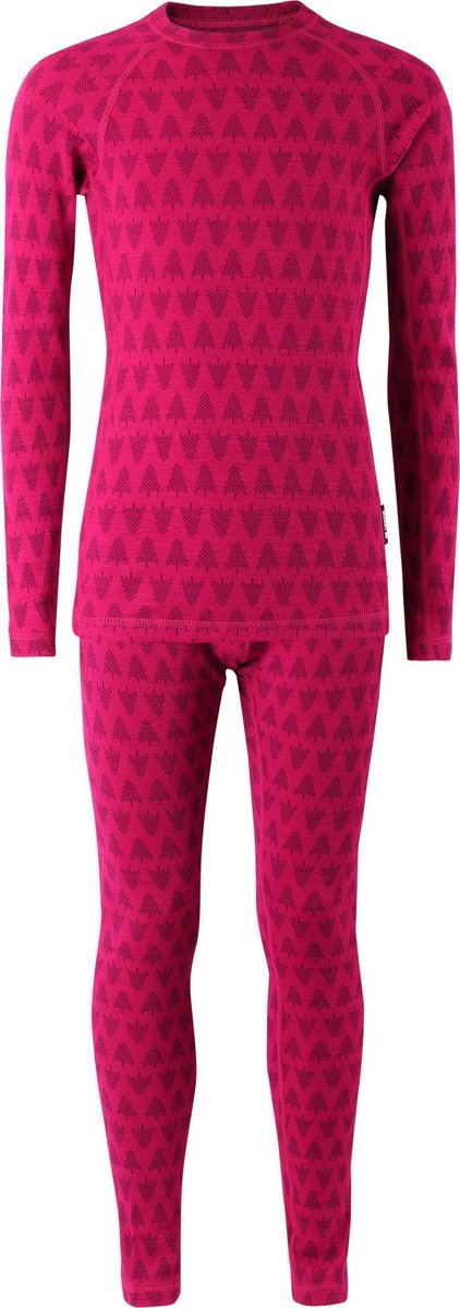 Reima Merino Kinder Thermokleding Set Taival Cranberry Pink