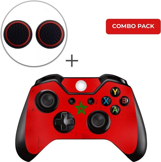 Marokko Combo Pack – Xbox One Controller Skins Stickers + Thumb Grips