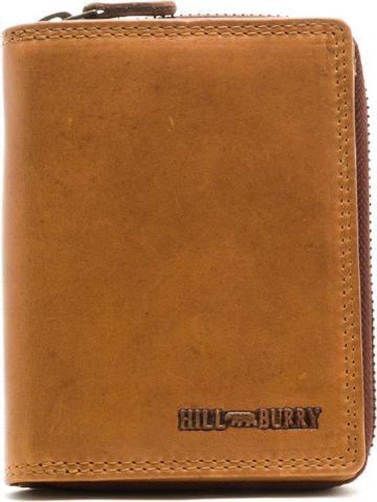 Hillburry VL777010 portemonnee bruin leer LeonDesign