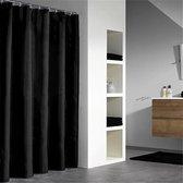 Spirella Primo Douchegordijn Textiel - 180x200 cm - Black