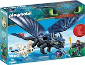 PLAYMOBIL Dragons Tandloos en Hikkie speelset - 70037