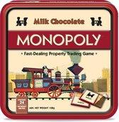 Monopoly Chocolade spel - in luxe Vintage bewaarblik