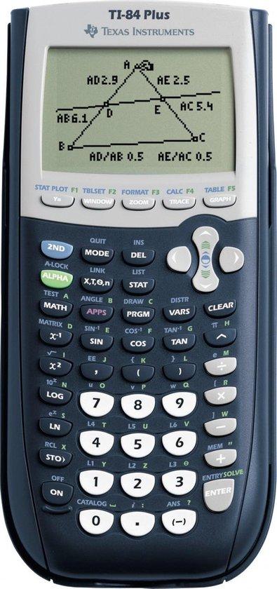 Afbeelding van Texas Instruments TI-84 Plus