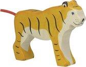 Holztiger staande tijger