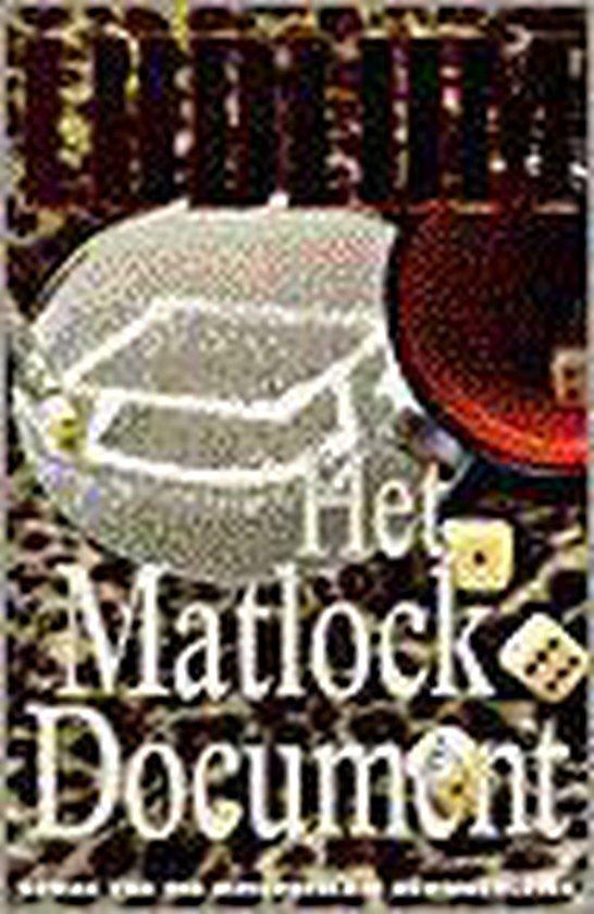 Het Matlock Document - Robert Ludlum |