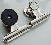 EXXO #21200 - Magnetische Papierklemmen - 50mm - 12 stuks