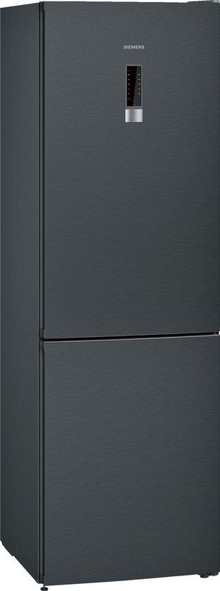 Koelkast: Siemens KG36NXB45 iQ300 - Koel-vriescombinatie - Zwart inox, van het merk Siemens