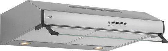 ETNA AO761RVS - Afzuigkap - Onderbouw - RVS - 60cm