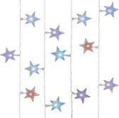 Kerstverlichting lichtsnoer Ster 30 gekleurd LED 2,9 meter