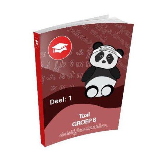 Oefenboek Groep 8 Taal - Deel 1 - De Bijlesmeester  