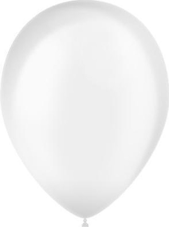 Doorzichtige Ballonnen 25cm 50 stuks