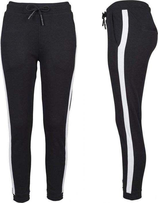 Senvi Ladies Trendy Joggingbroek - XS - Witte Streep