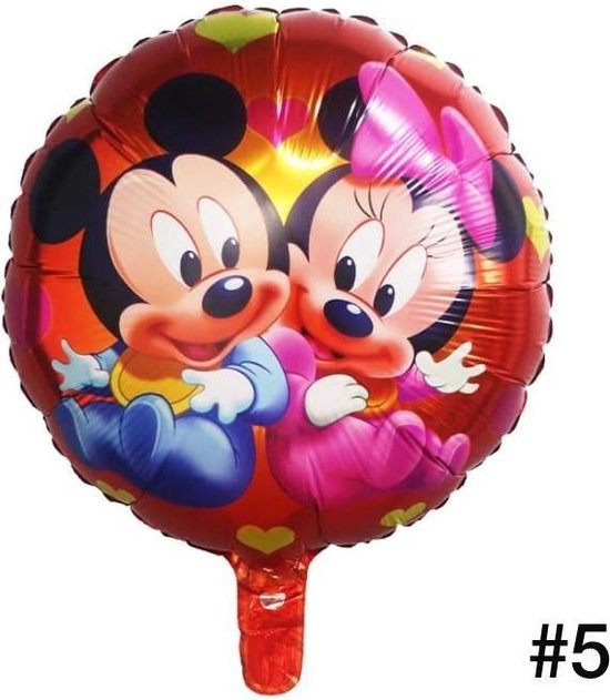 Disney Mickey of Minnie Mouse Folieballon/Verjaardag/Feest/Folieballon(5)