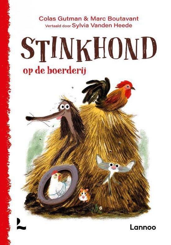 Boek cover Stinkhond op de boerderij van Colas Gutman (Hardcover)