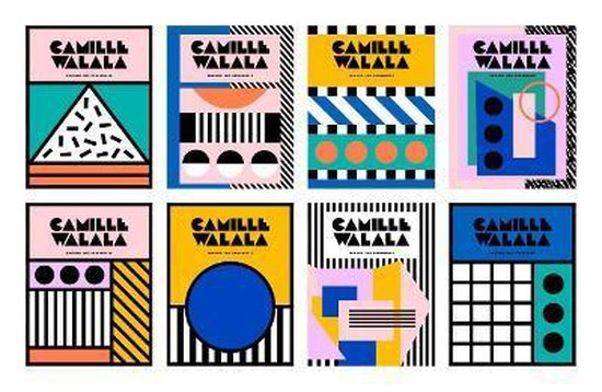 Boek cover Camille Walala van Camille Walala (Hardcover)