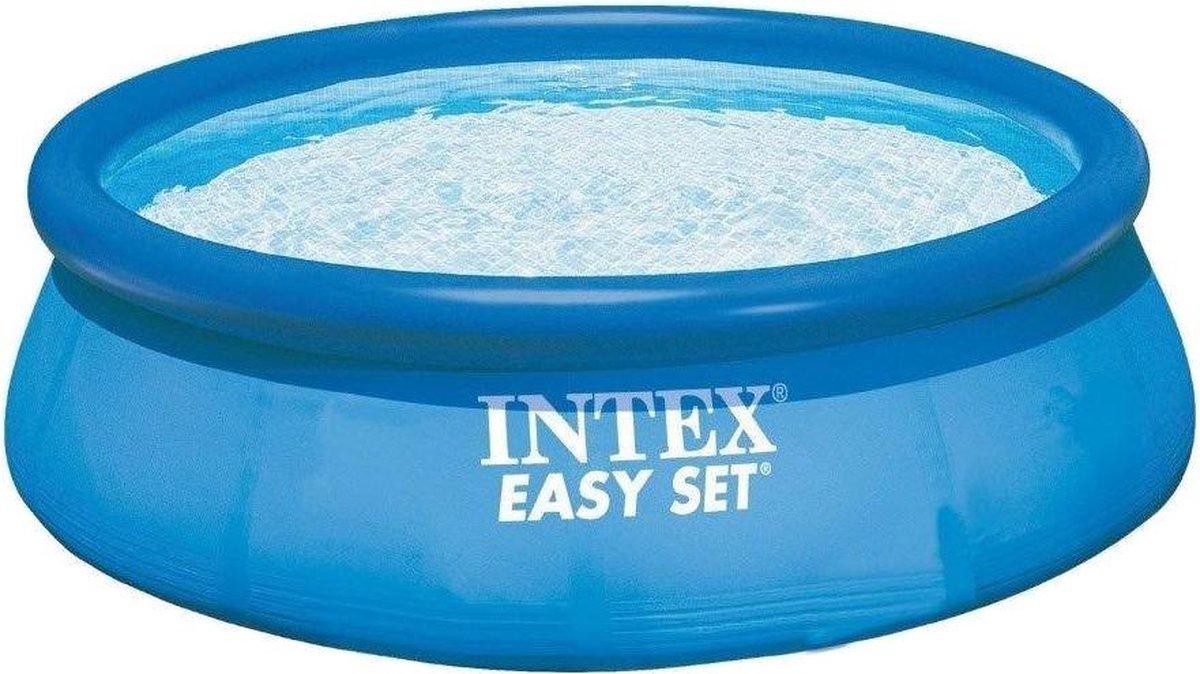 opblaaszwembad zonder pomp 28120NP Easy 305 x 76 cm blauw