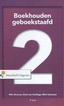 Boek cover Boekhouden geboekstaafd 2 van Wim Broerse