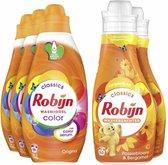 Robijn Color Wasmiddel en Wasverzachter - 57 wasbeurten - Voordeelverpakking