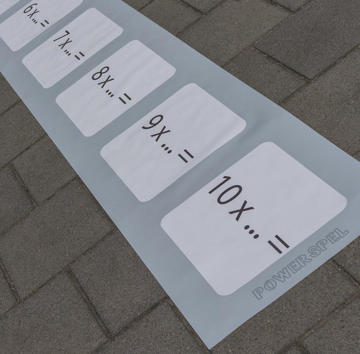 Leermat tafels (lengte)