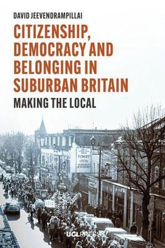 Boek cover Citizenship, Democracy and Belonging in Suburban Britain van David Jeevendrampillai (Paperback)