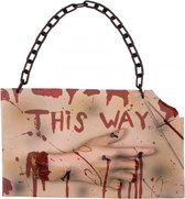 Horror wegwijzer 'This Way '