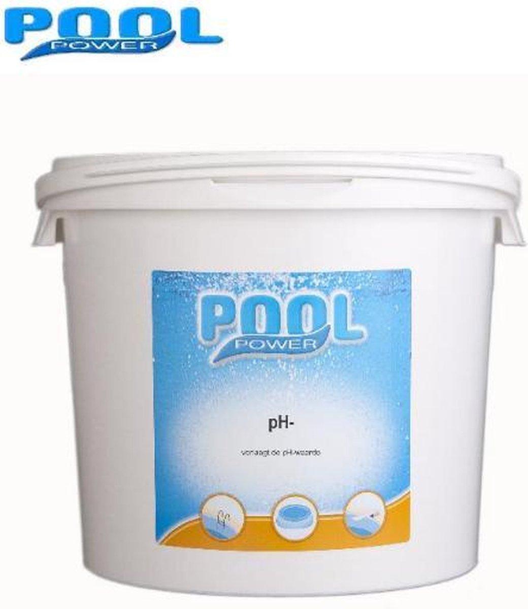Pool Power - PH minus 5KG - zwemwater stabilisator