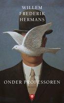Boek cover Onder professoren van Willem Frederik Hermans