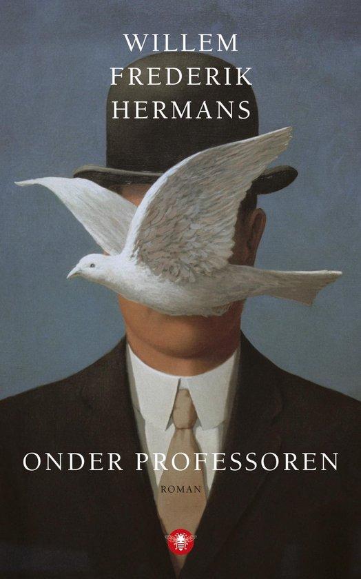 Boek cover Onder professoren van Willem Frederik Hermans (Onbekend)