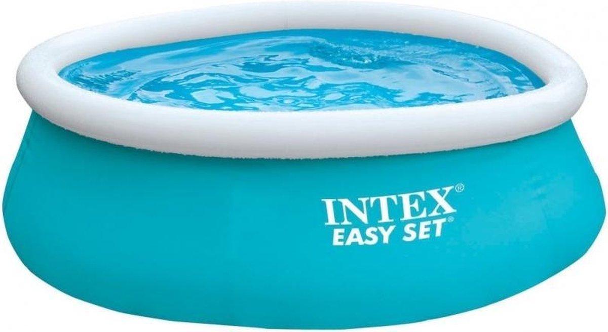 opblaaszwembad zonder pomp 28101NP Easy 183 x 51 cm blauw