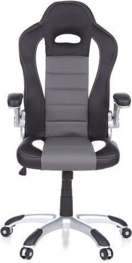 hjh office - Game Racer Sport - Bureaustoel - zwart/grijs