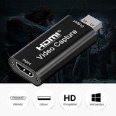 EverestPeak® Capture Card – Gaming en Video – 1080p Full HD - HDMI -  USB