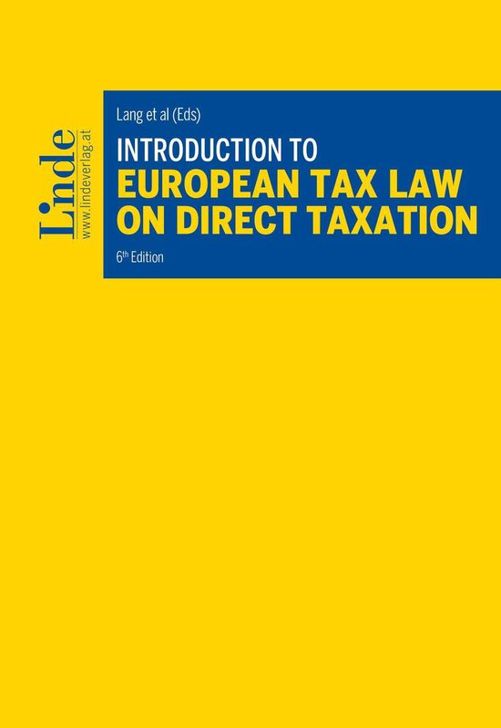 Boek cover Introduction to European Tax Law on Direct Taxation van  (Onbekend)