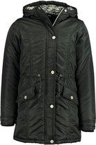 Zeeman - kinder winter parka - zwart - maat 134/140