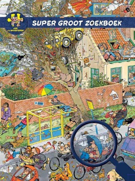 Boek cover Jan van Haasteren Super Groot Zoekboek van  (Hardcover)