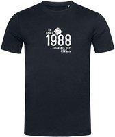 Stedman T-shirt Voetbal | 1988 | EK Finale James | STE9200 Heren T-shirt Maat S